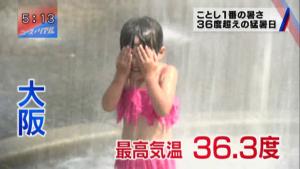 暑い7.5